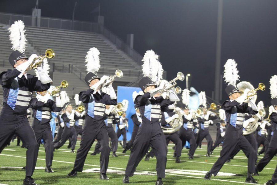 Band Marches into Contest Season